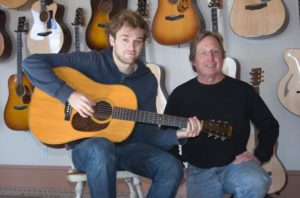 Chris Thile and Jim Baggett at Mass Street Music