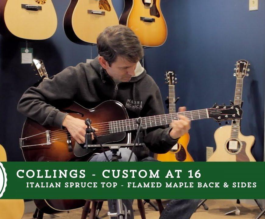 Collings Guitars - Custom AT 16 Demo