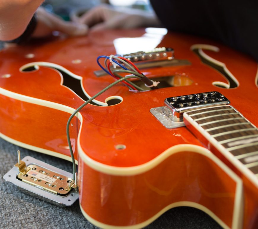 TV Jones and Emmerson Kit upgrade to Gretsch