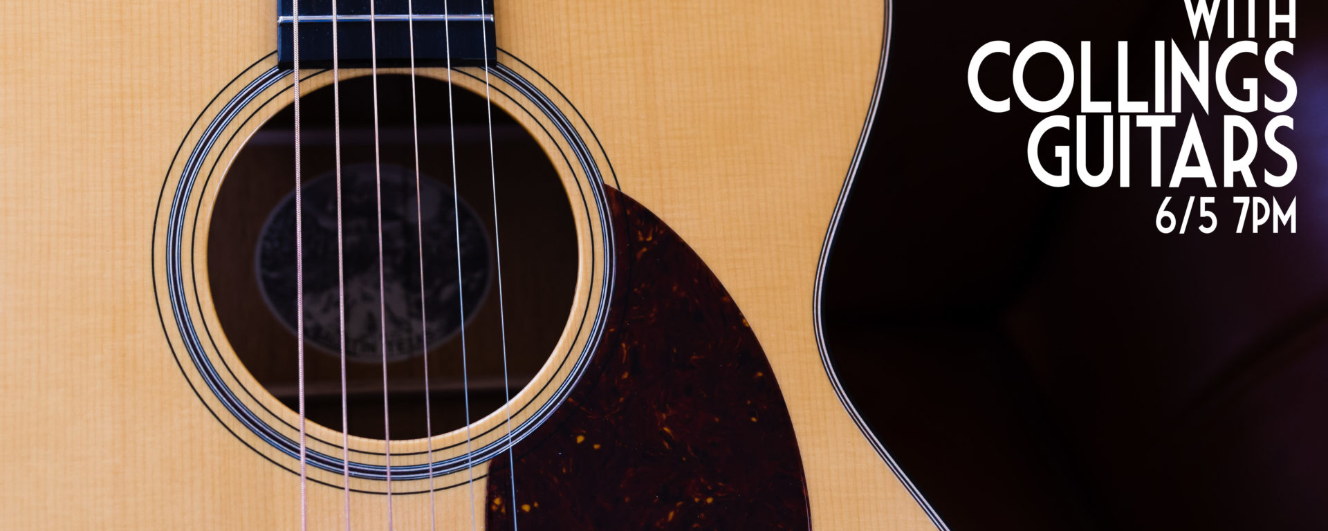 An Evening with Collings Guitars at Mass Street Music