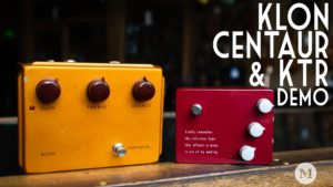 Klon KTR Versus Klon Centaur
