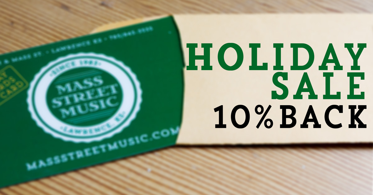 10% Back Holiday Sale