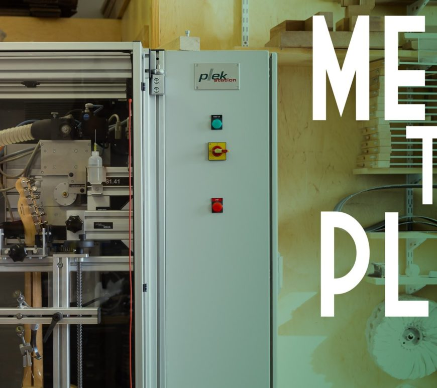 Meet the Plek Machine at Mass Street Music
