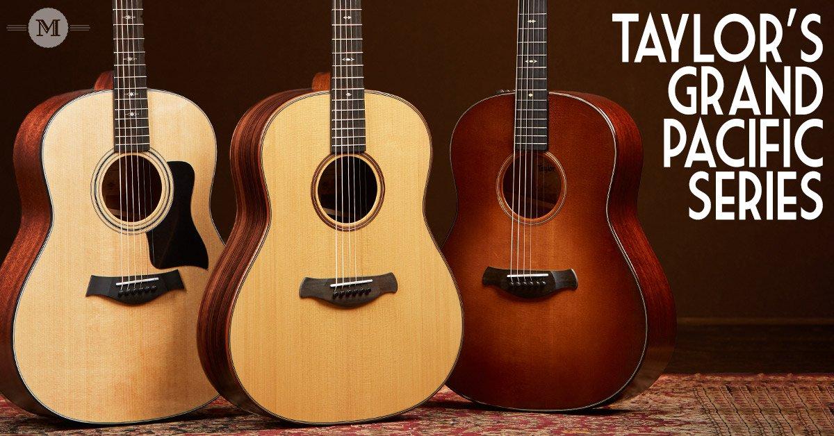 Grand Pacific Guitars at Mass Street Music