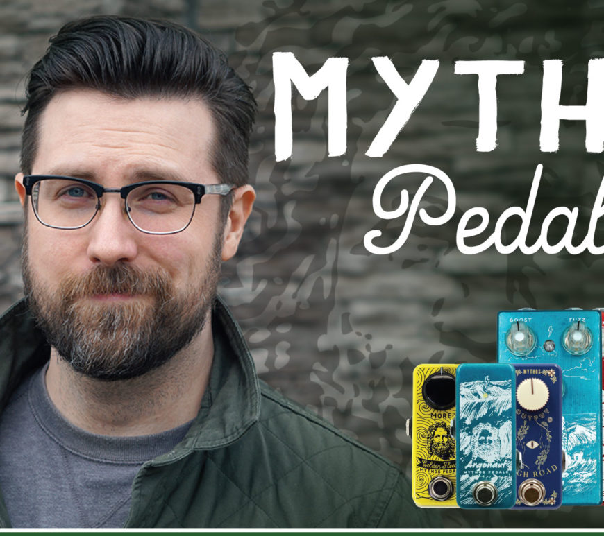 Mythos Pedals Livestream at Mass Street Music