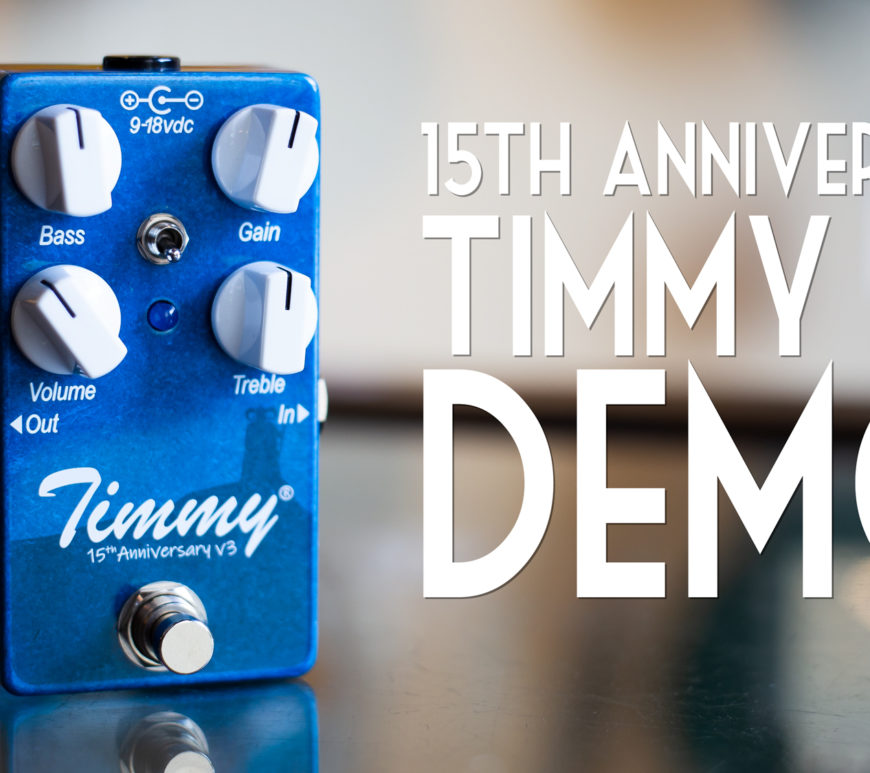 Timmy V3 Demo at Mass Street Music