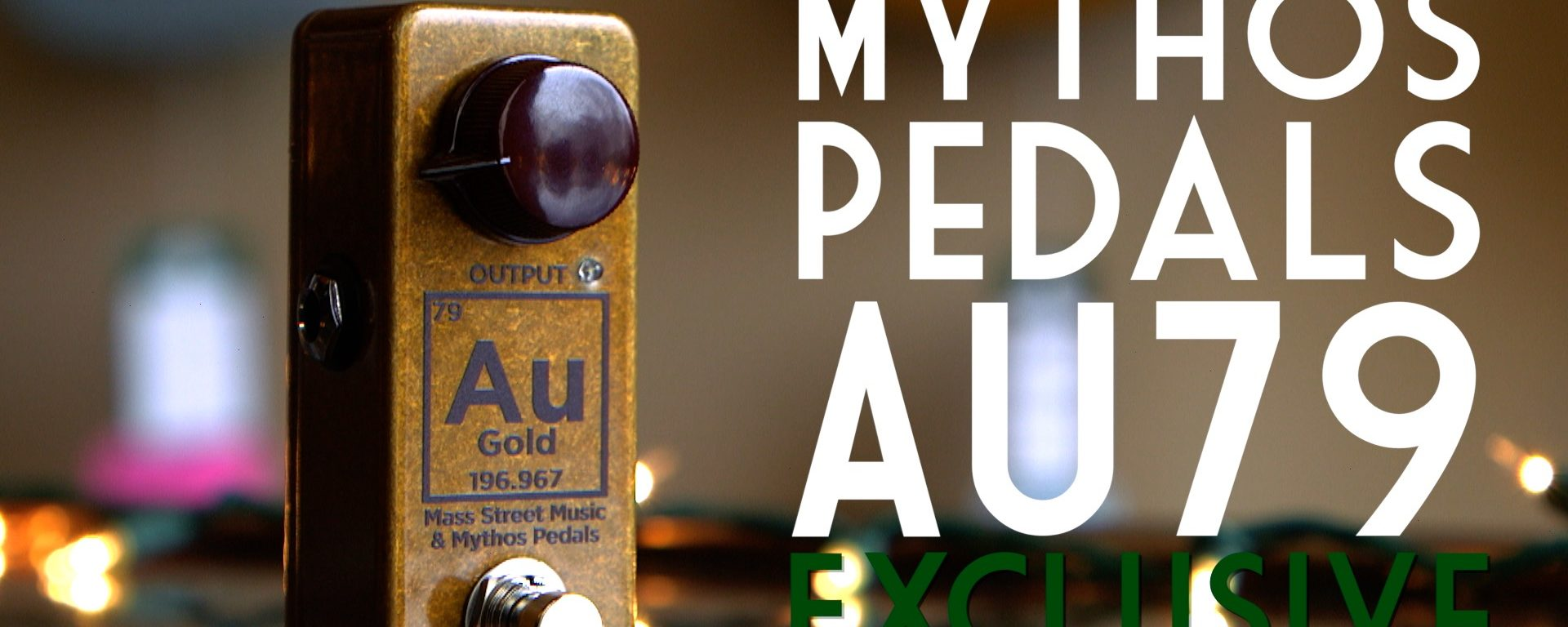 Mythos Pedals Au79