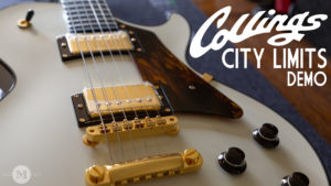 Collings Guitars City Limits Olympic White