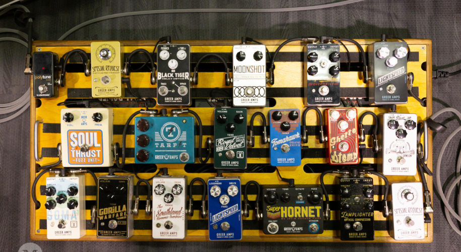 Greer Amps Pedals