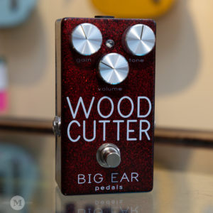 Big Ear Pedals - Woodcutter Rudy Red