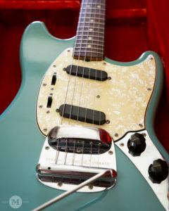1966 Fender Mustang Daphne Blue