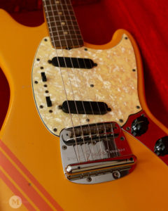 Fender Guitars - 1969 Mustang - Competition Orange