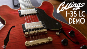 Collings I-35 LC Faded Cherry