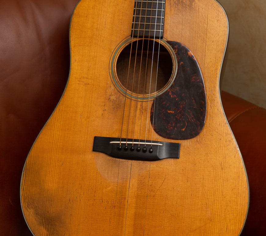Martin Acoustic Guitars - 1941 D-18
