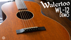 Waterloo WL-12 Mahogany