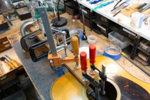 Repair Spotlight: Vintage Martin Headstock Repair
