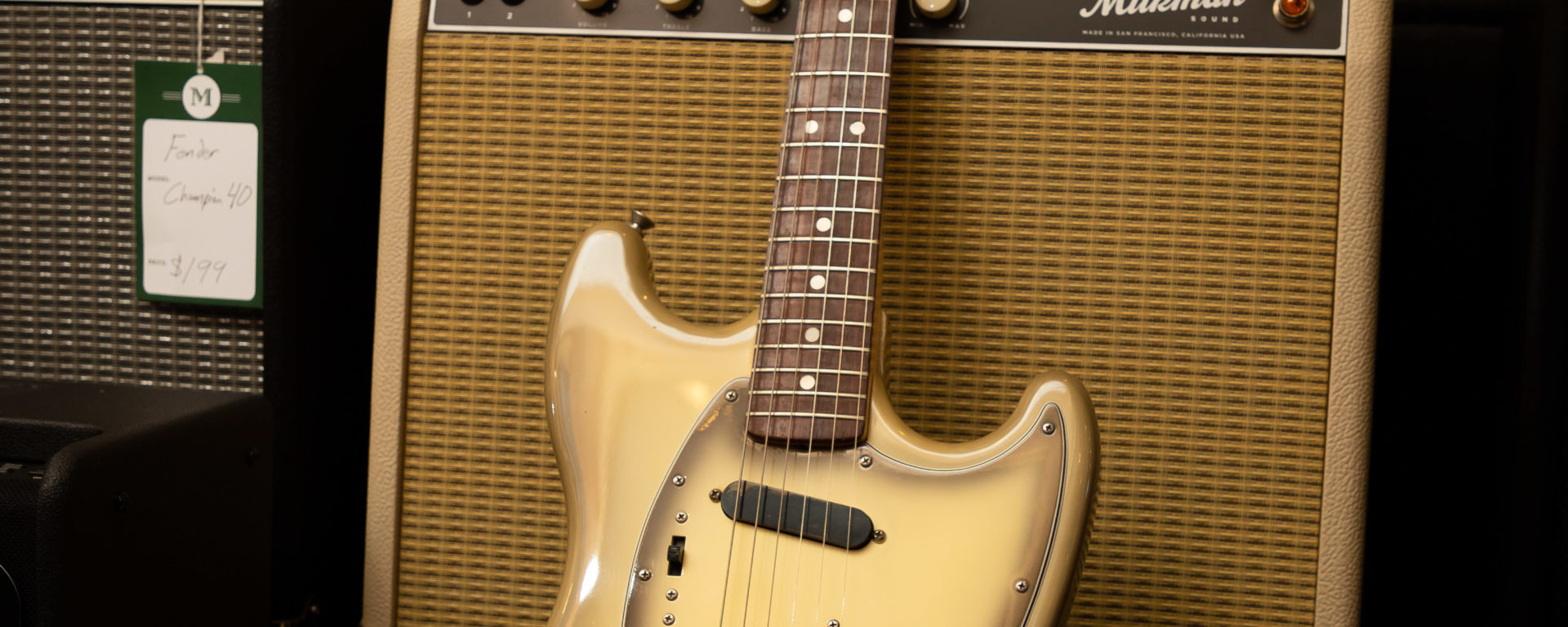 Fender Electric Guitars - 1978 Mustang Antigua