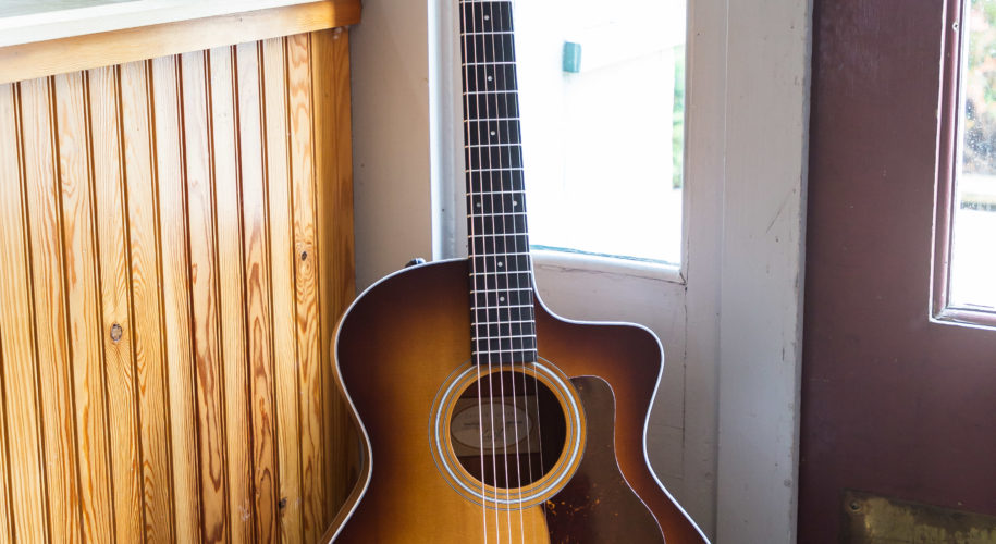 Taylor Acoustic Guitars - 214ce-K SB - Shaded Edge Burst LTD