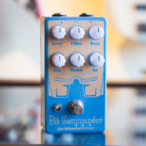 EarthQuaker Devices - Bit Commander Octave Synth - Retrospective Edition - Pastel Blue/Apricot