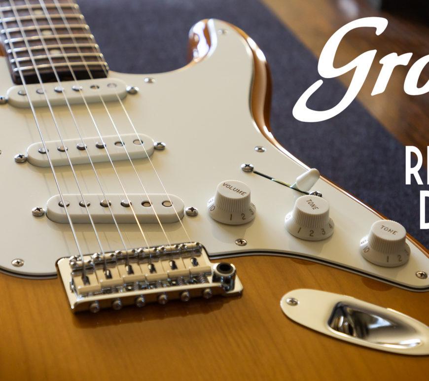 Don Grosh Electric Guitars - NOS Retro - Vintage Maple Burst