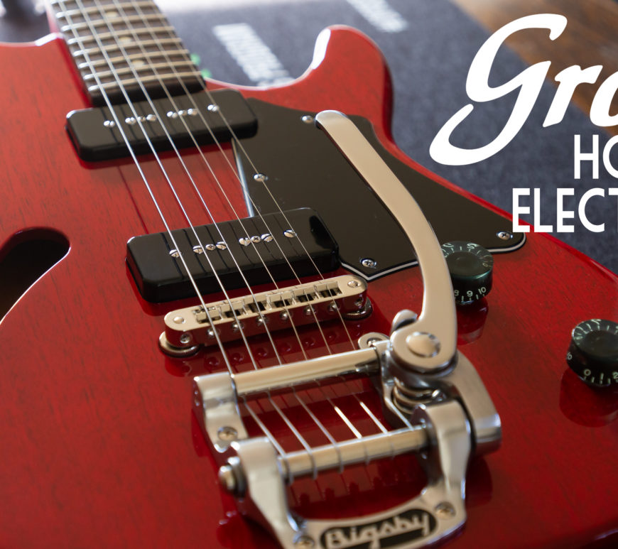 Don Grosh Guitars - Hollow ElectraJet - Aged Cherry
