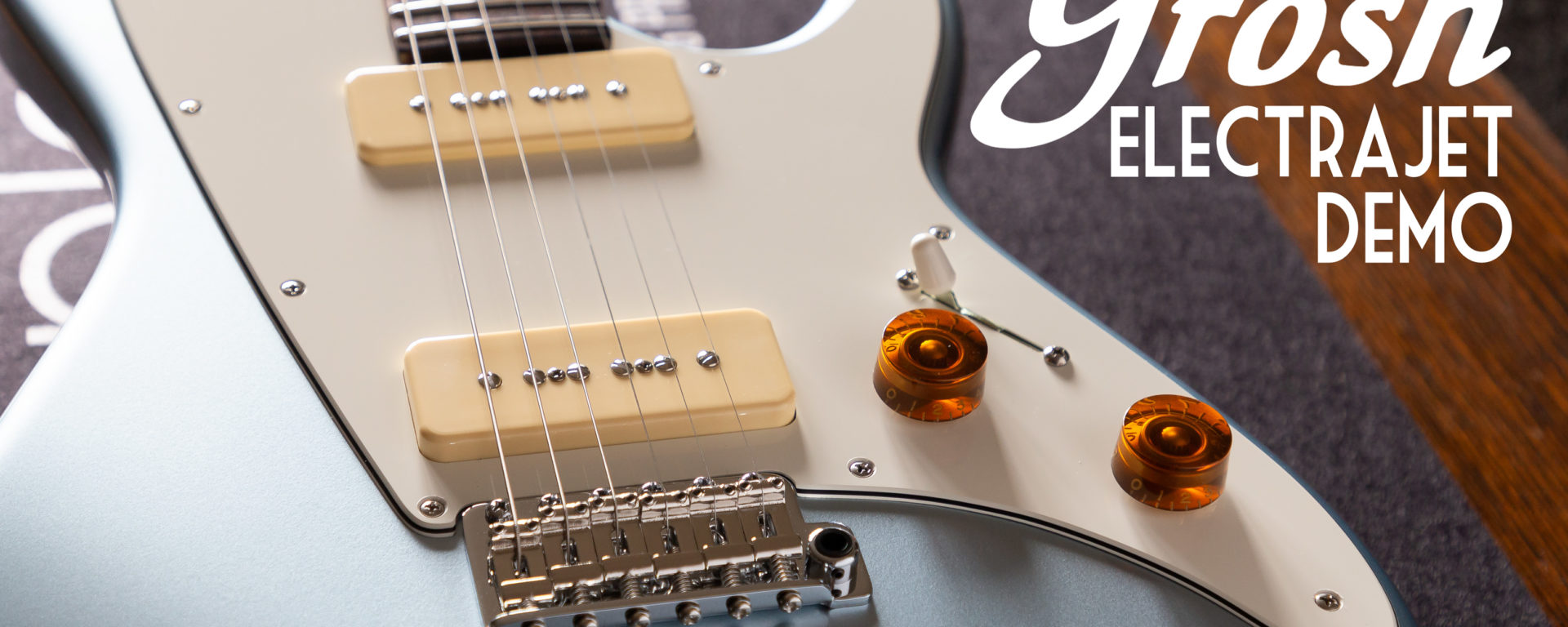 Don Grosh Electric Guitars - ElectraJet Ice Metallic Blue - Short Scale