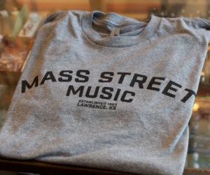 Mass Street Music - Block Logo - T-Shirt