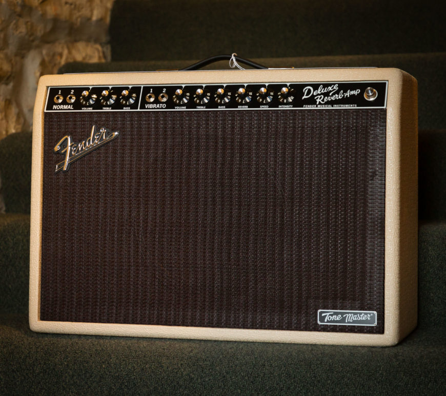Fender Amps - Tone Master Deluxe Reverb Blonde