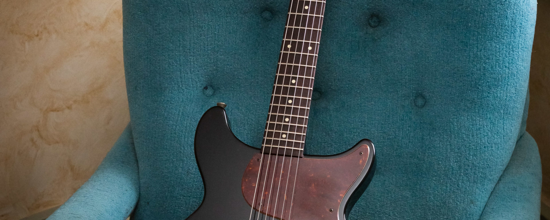 Collings Electric Guitars - 290 DC S - Jet Black - Aged