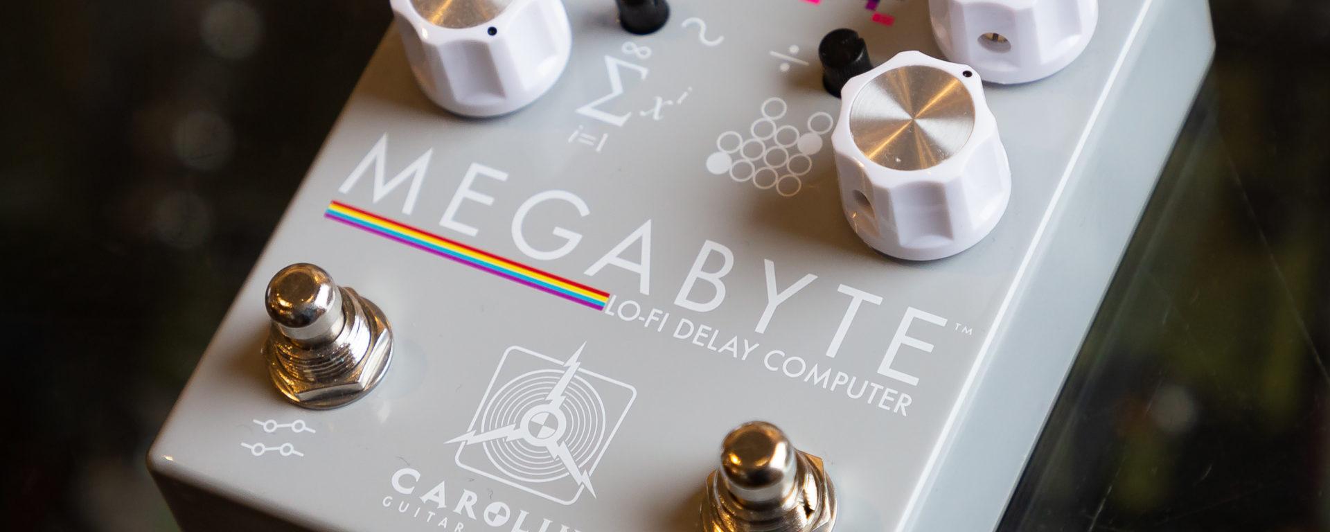 Caroline Effect Pedals - Megabyte Lo-Fi Delay
