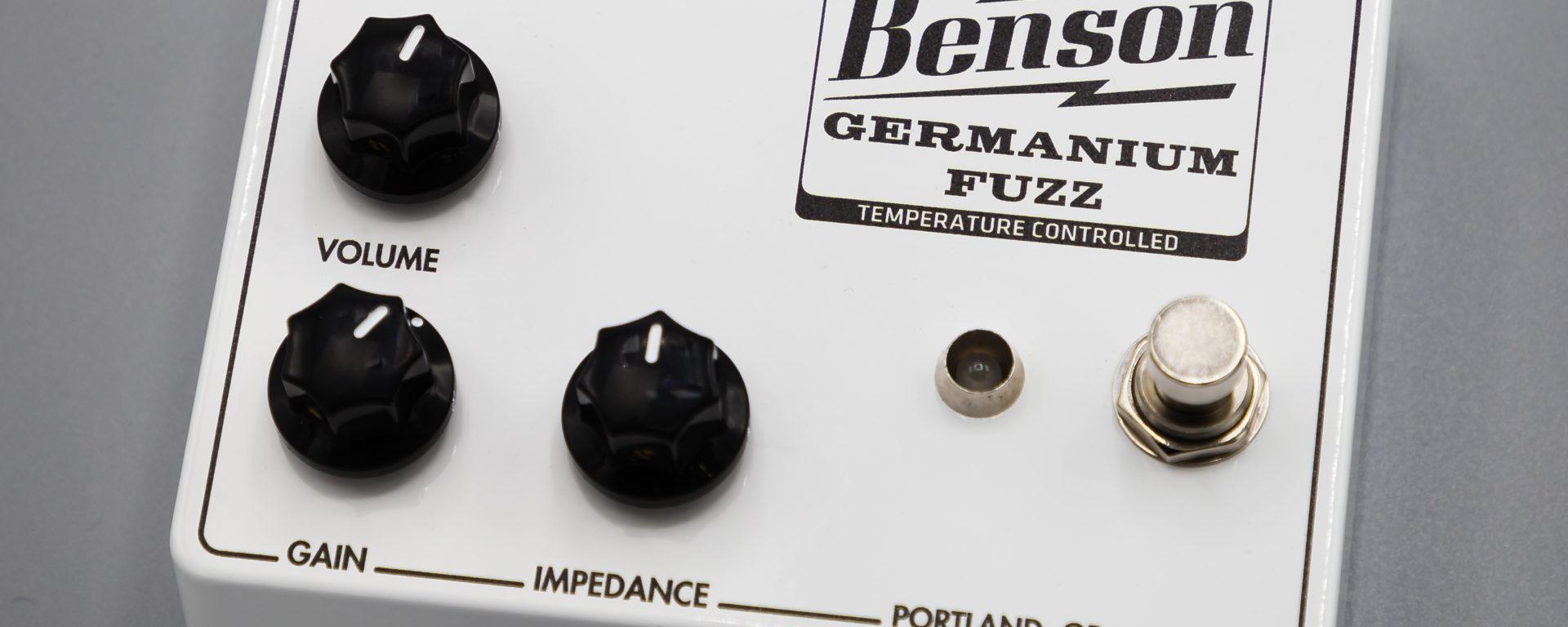 Benson Amps - Solar White Fuzz - Germanium