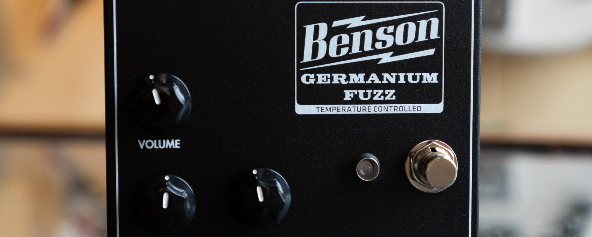 Benson Amps - Germanium Fuzz - Studio Black