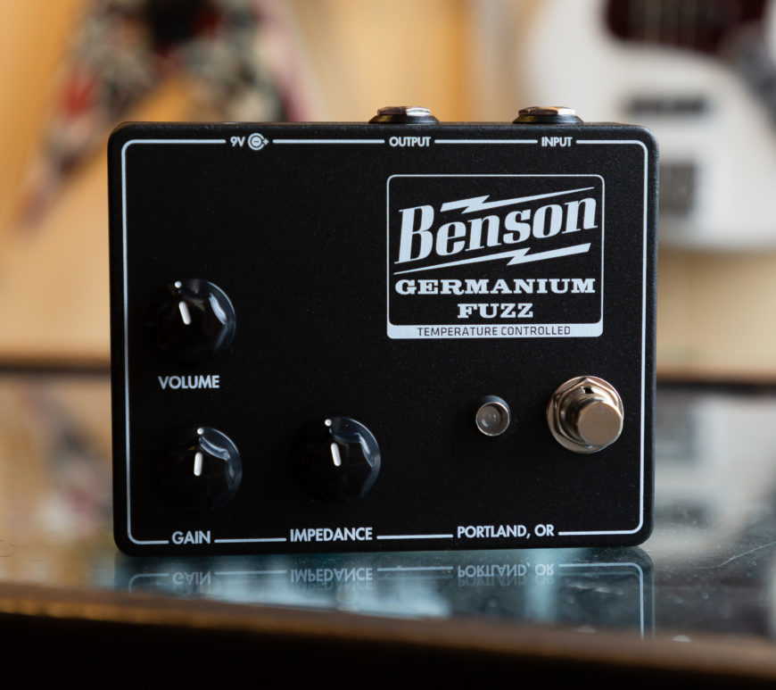 Benson Amps - Germanium Fuzz - Studio Black