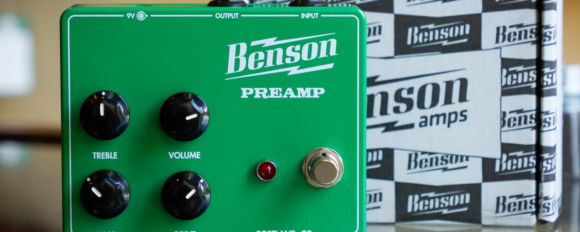Benson Amps - Exclusive MSM Green